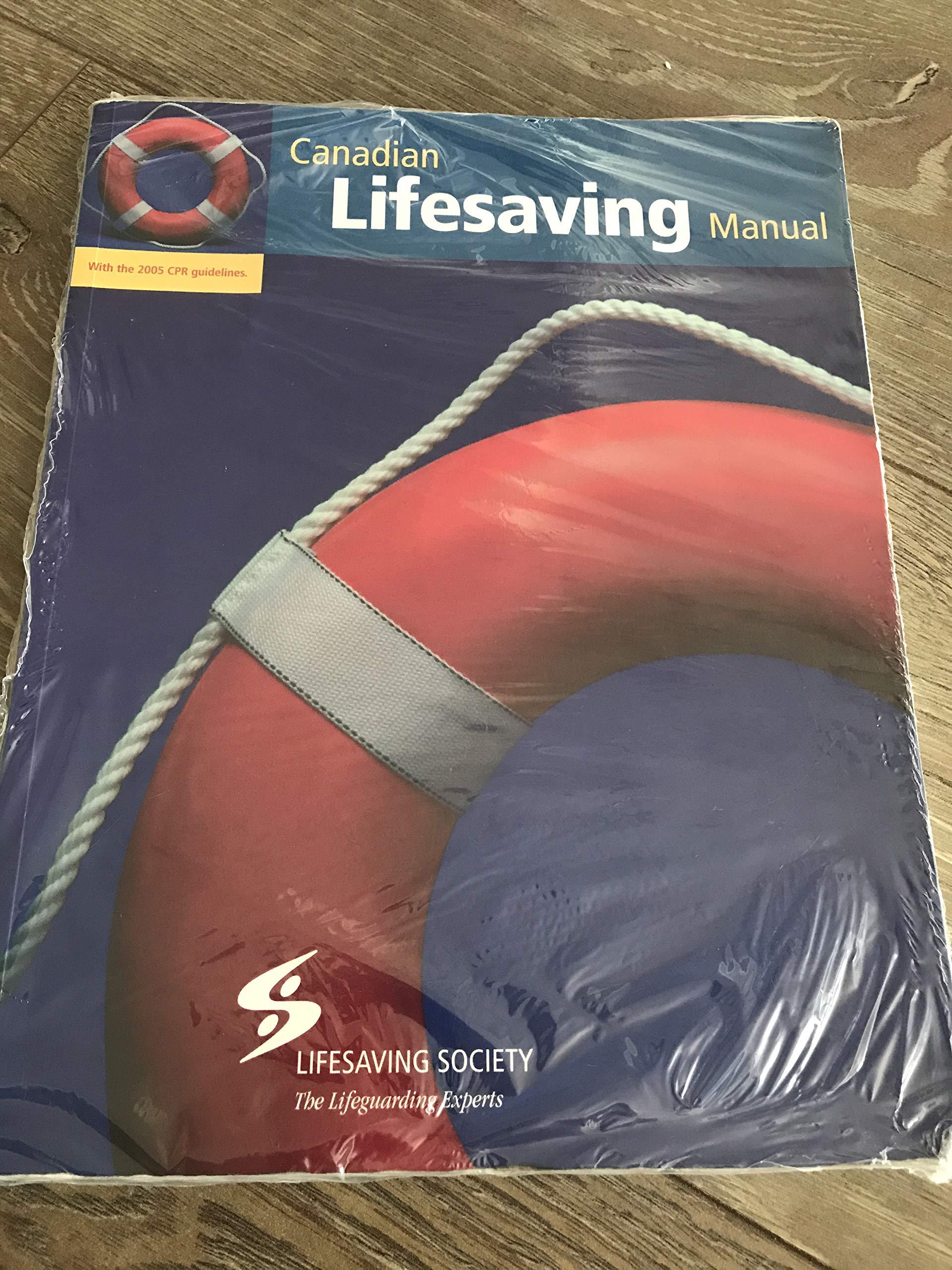 Canadian Lifesaving Manual Pdf