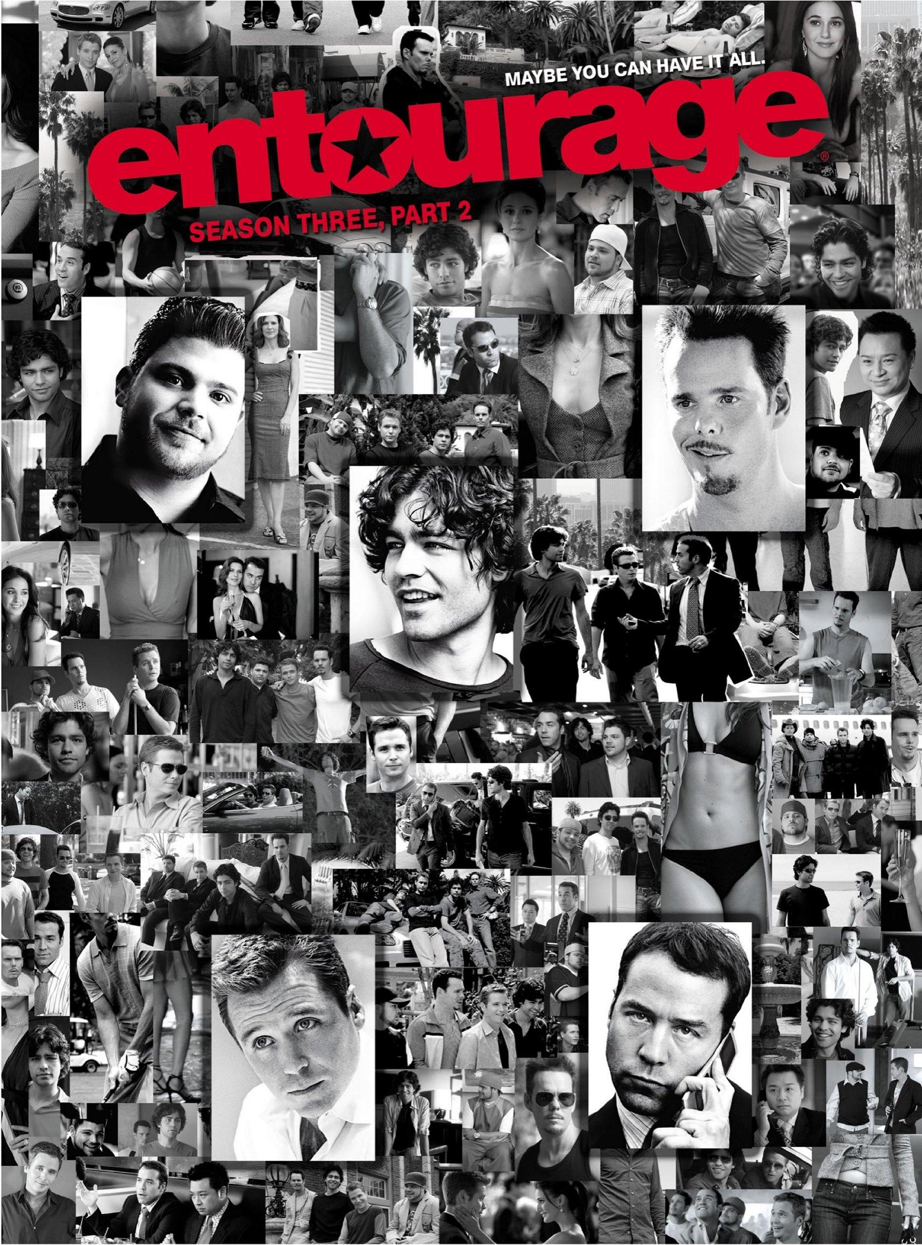 DVD : Entourage: Season Three Part 2 (Digipack Packaging, 2 Disc)