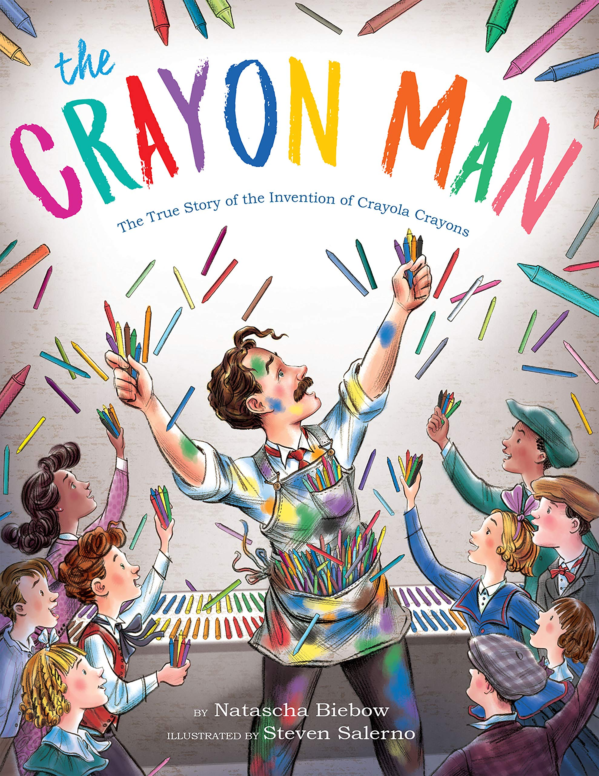 The True Story of the Invention of Crayola Crayons_Picture Book Biographies