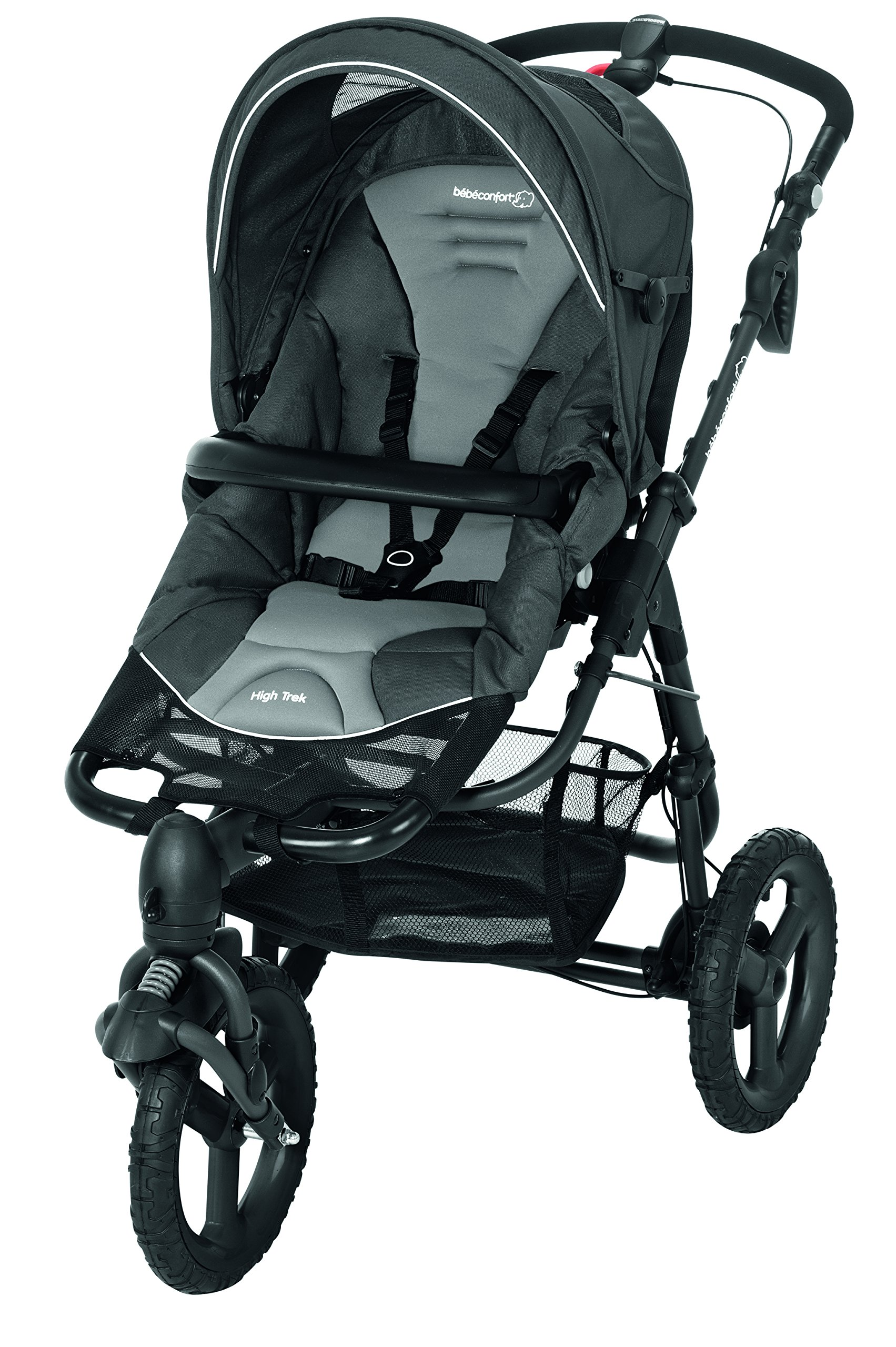 Bébé Confort Poussette 3 Roues High Trek Tout-terrain - Naissance à 15 Kgs - Concrete Grey product image