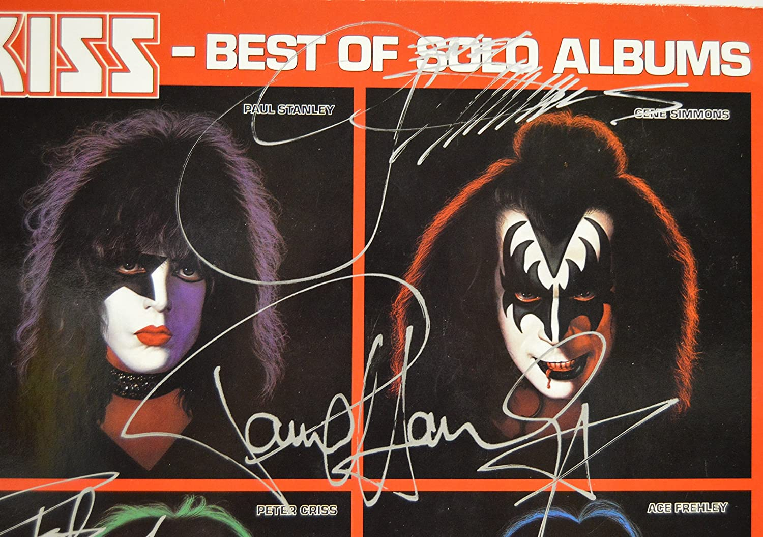 The Official® Price Guide to KISS Collectibles - German Cover