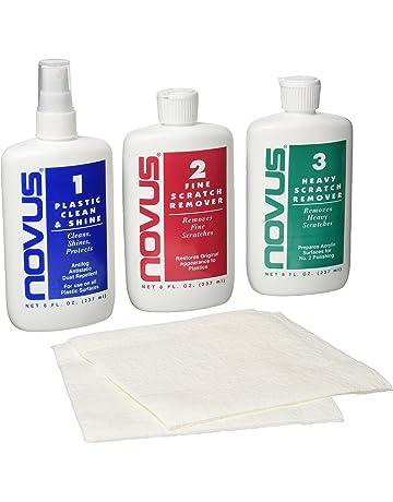 Novus Plastic Polish Kit 1/2/3 x 237 ml (8 once)