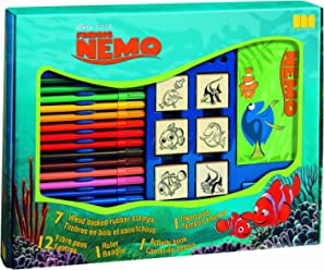 Multiprint Disney Finding Nemo Rubber Stamp Big Box (Set of Seven)