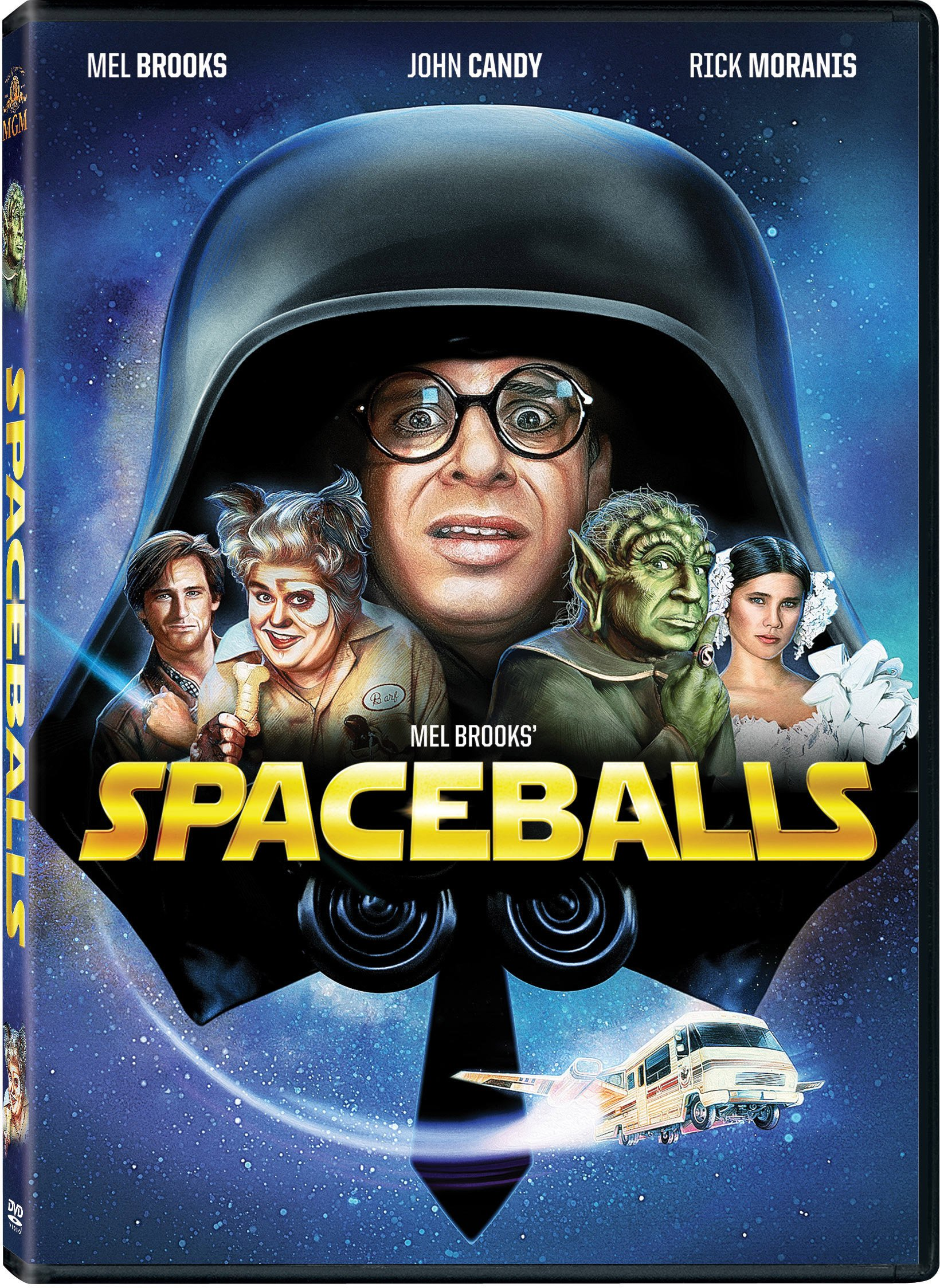 DVD : Spaceballs (Full Frame, Dubbed, , Widescreen, Repackaged)