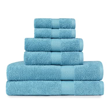Tommy Bahama Cypress 6-Piece Towel Set Pelican Gray Arroya
