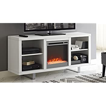 Amazon Com Ameriwood Home Parsons Electric Fireplace For