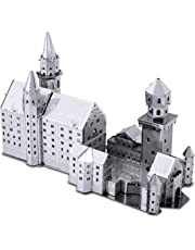 Fascinations Metal Earth Neuschwanstein Castle 3D Metal Model Kit