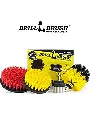 Drillbrush 4 piezas de kit de fijación de la herramienta de limpieza para fregar Tile/Limpieza paquete de variedad