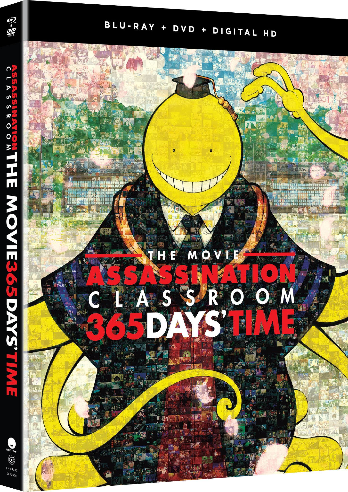Blu-ray : Assassination Classroom The Movie: 365 Days' Time (With DVD, 2 Pack, Subtitled, Dubbed, 2PC)