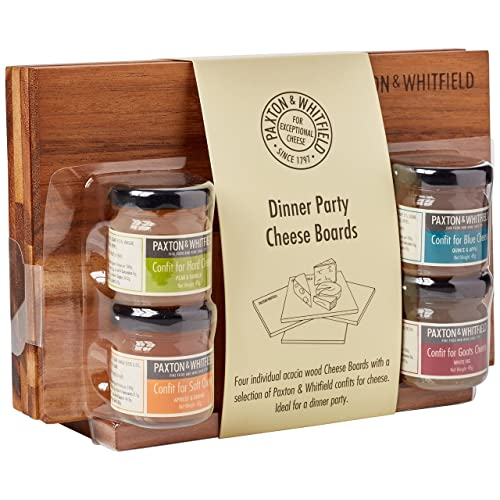 Paxton and Whitfield Dinner Party Cheese Boards with Confits