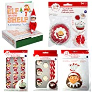 Elf on The Shelf: A Christmas Tradition, Cupcake Combo, Icing Decorations, Cocoa Trimming Kit, and Party Bags