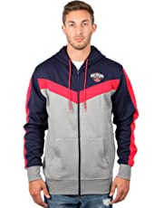 UNK NBA Men's Soft Fleece Full Zip Jacket Hoodie