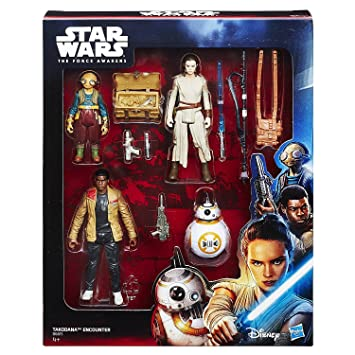 9 figurines star wars