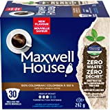 Maxwell House 100% Colombian Coffee 100% Compostable Pods, 30 Pods