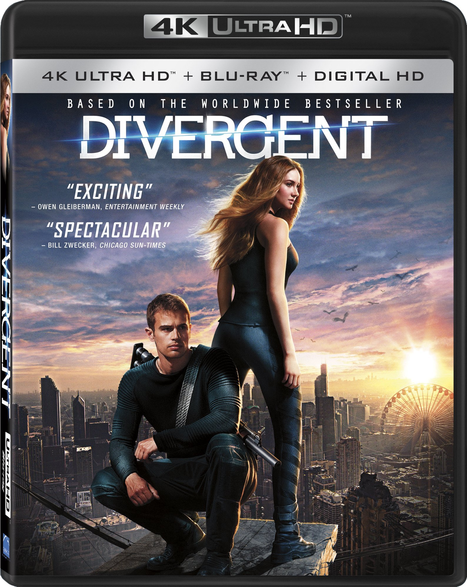 4K Blu-ray : Divergent (4K Mastering, Widescreen, , Digital Theater System, AC-3)