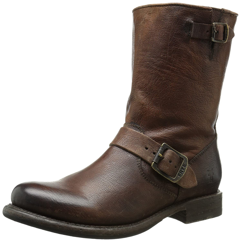 FRYE Women's 'Jenna Engineer' Boot B00TXDGL3A 8 B(M) US,Cognac -