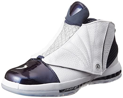 97e061fd499649 ... where can i buy nike jordan mens air jordan 16 retro white white  midnight navy casual