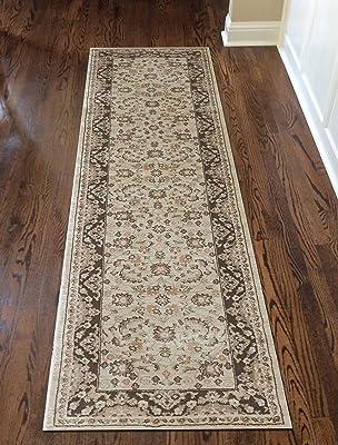 Amazon Com Silk Persian Style Area Rug Long Hallway Stair