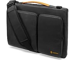 tomtoc 360 Protective Laptop Shoulder Bag for 13-inch MacBook Air 2018-2021 M1/A2337 A2179, MacBook Pro 13.3 2016-2021 M1/A23