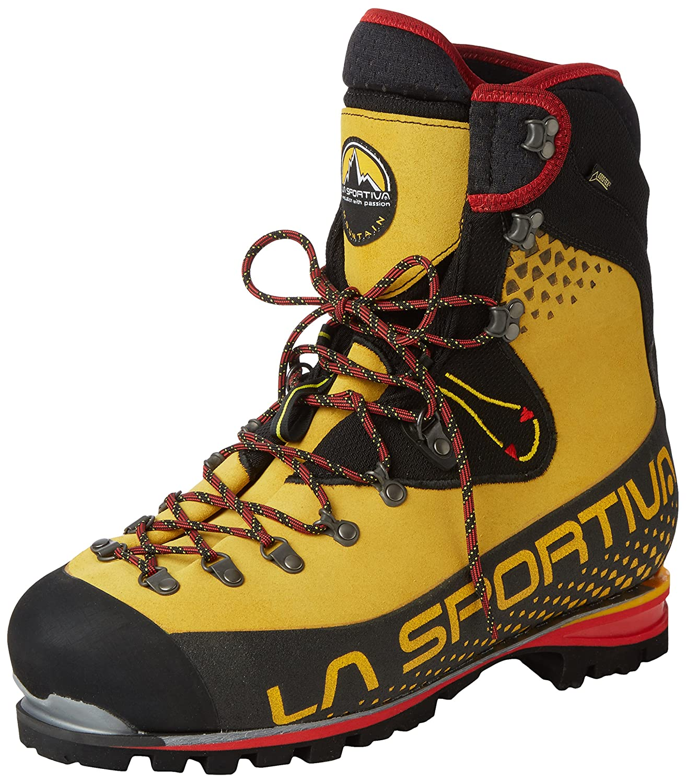 La Sportiva Nepal Cube GTX - botas de montaña para hombres, Color amarillo -