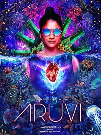 Poster of Aruvi 2020 Full Hindi Dubbed Movie Download HDRip 480p