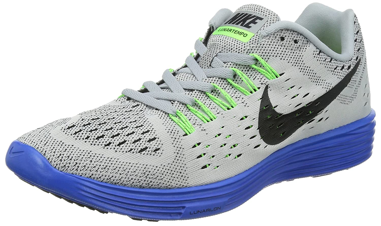 Nike Lunartrainer - Zapatillas Hombre 44 EU|Gris (Wolf Grey/Black-game Royal-flash Lime)
