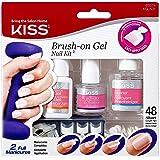 Kiss Brush-On Gel Nail Kit (KGLK01) (1 PACK)