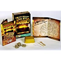 Discover with Dr. Cool Golden Nugget Dig Kit - Excavate Real Specimens!