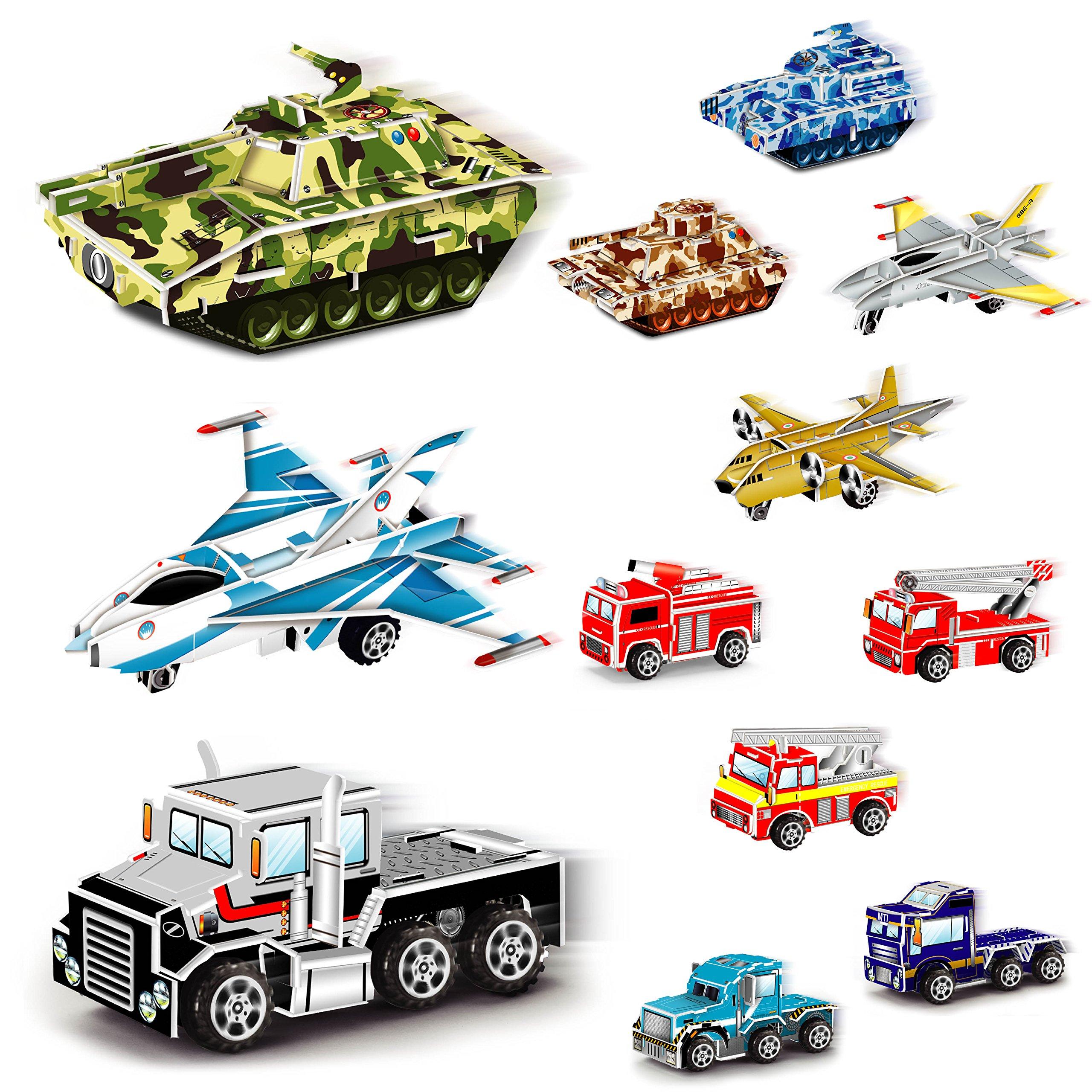 Liberty Imports Set Of 18 Pullback Vehicles