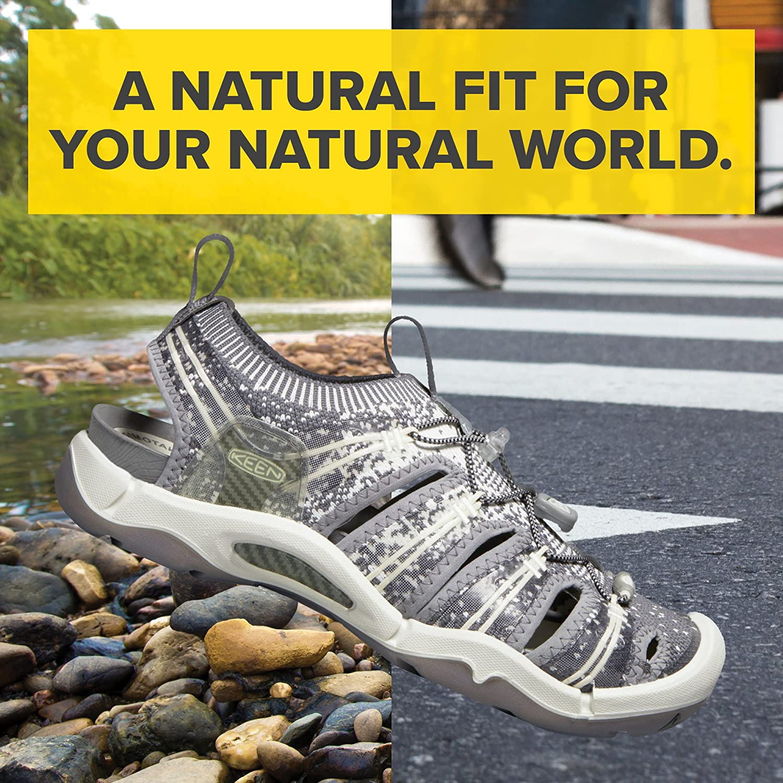 KEEN Women's EVOFIT ONE Water Sandal 9.5 for Outdoor Adventures B06ZY6QY9K 9.5 Sandal M US|Gray/White e815e9