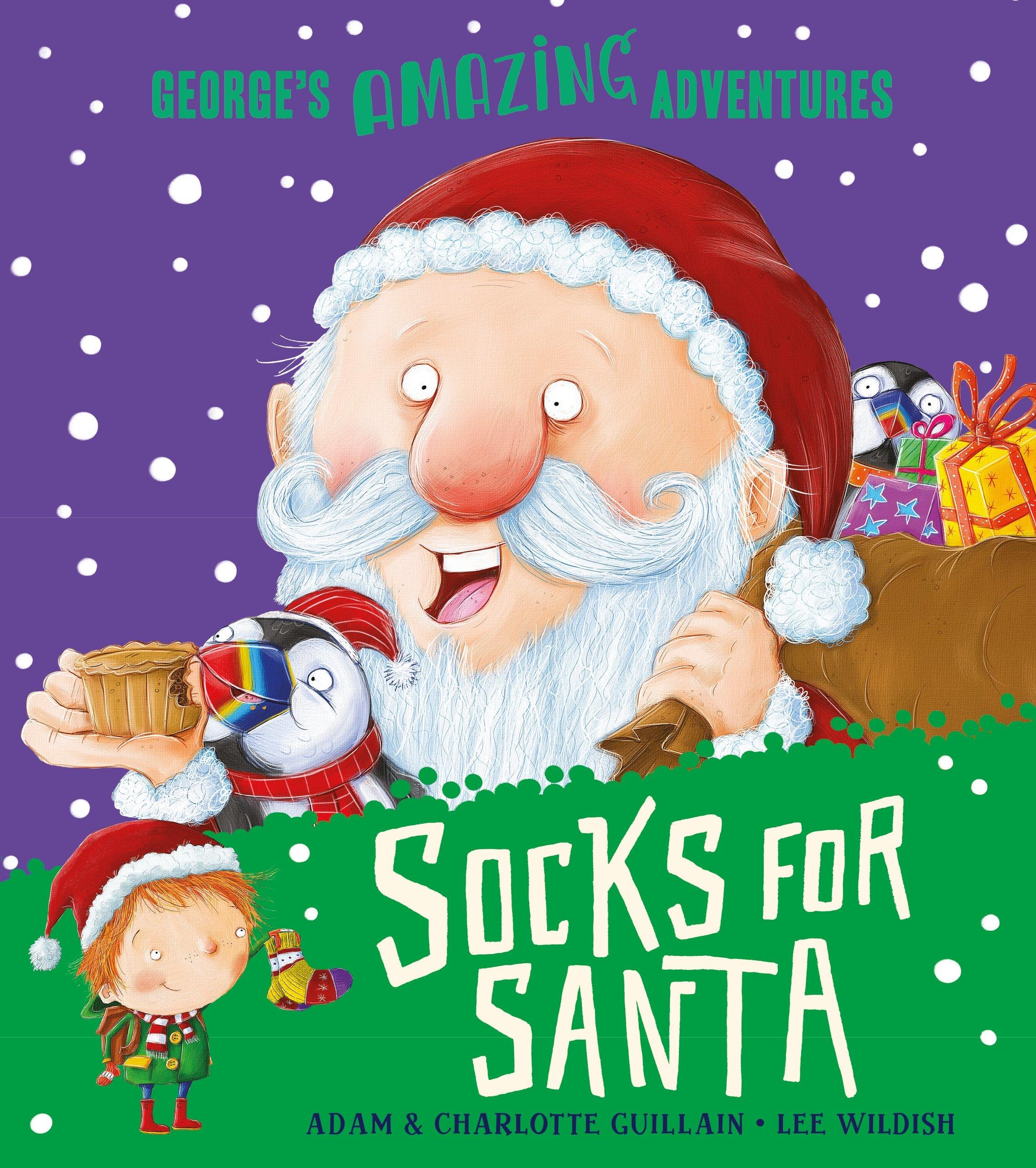 New Into Socks Ho Ho Ho Oh Snap Santa Gingerbread Man Men/'s shoe size 7-12