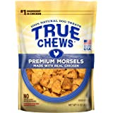 True Chews Natural Dog Treats Premium Morsels Made with Real Chicken, 11 oz