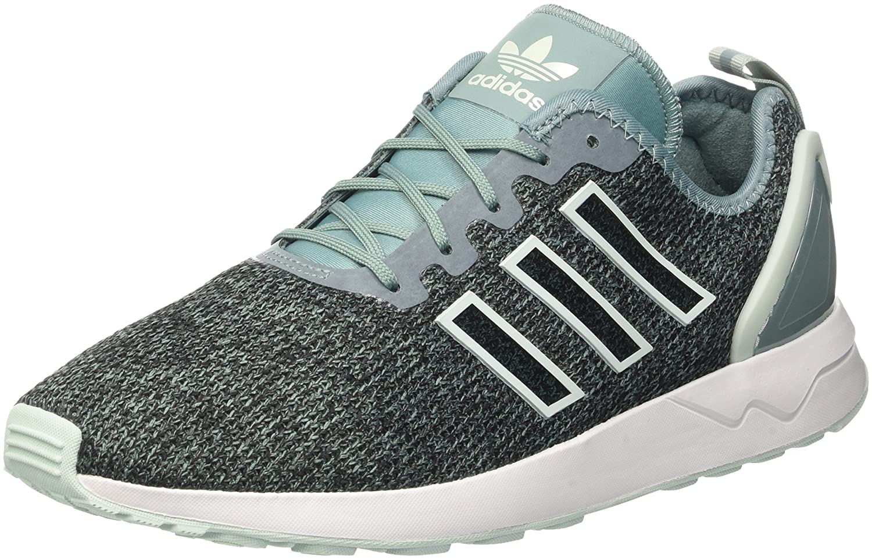 Adidas ZX Flux ADV, Zapatillas para Hombre 47 1/3 EU|Gris (Vapste/Vapgrn/Ftwwht)