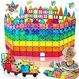 HOMOFY Oversize 3D Building Blocks Magnetic Tiles 100PCS STEM Educational Magnet Toy Set for Kids Inspiration Building Constr