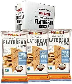 Primizie Simply Salted Gourmet Crispbreads 6.5 oz (Pack of 3)