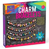 Craft-tastic – DIY Puffy Charm Bracelets – Jewelry Making Kit – Create 4 Customizable Charm Bracelets with 140 Puffy Stickers