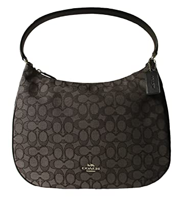 ... wholesale coach zip shoulder bag in signature jacquard smoke black  f29959 f9025 a8d20 de8ac6935523b