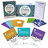 Chat Chains: Social Emotional Learning & Social Skills Games for Kids Ages 8+, Family Games & Therapy Games for Counselors -