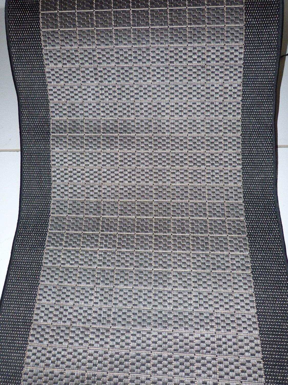 Hamat Läufer Design rutschfester Flachgewebe Anthrazit Meterware lfm. 35,90 Euro 280 80 x 280 Euro cm 124f39