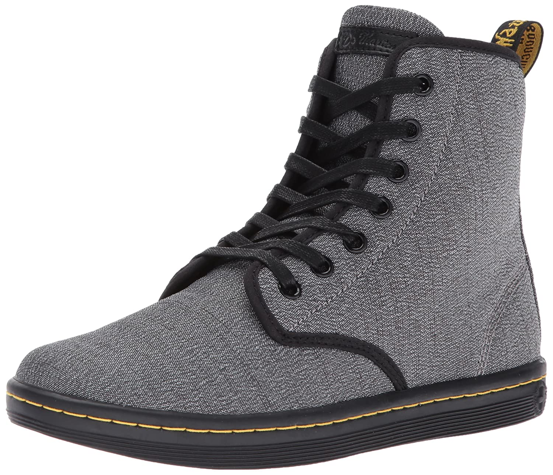 Dr. Martens Women's Shorditch Gunmetal Fashion Boot B01N2Z22BS 5 Medium UK (7 US) Mid Grey