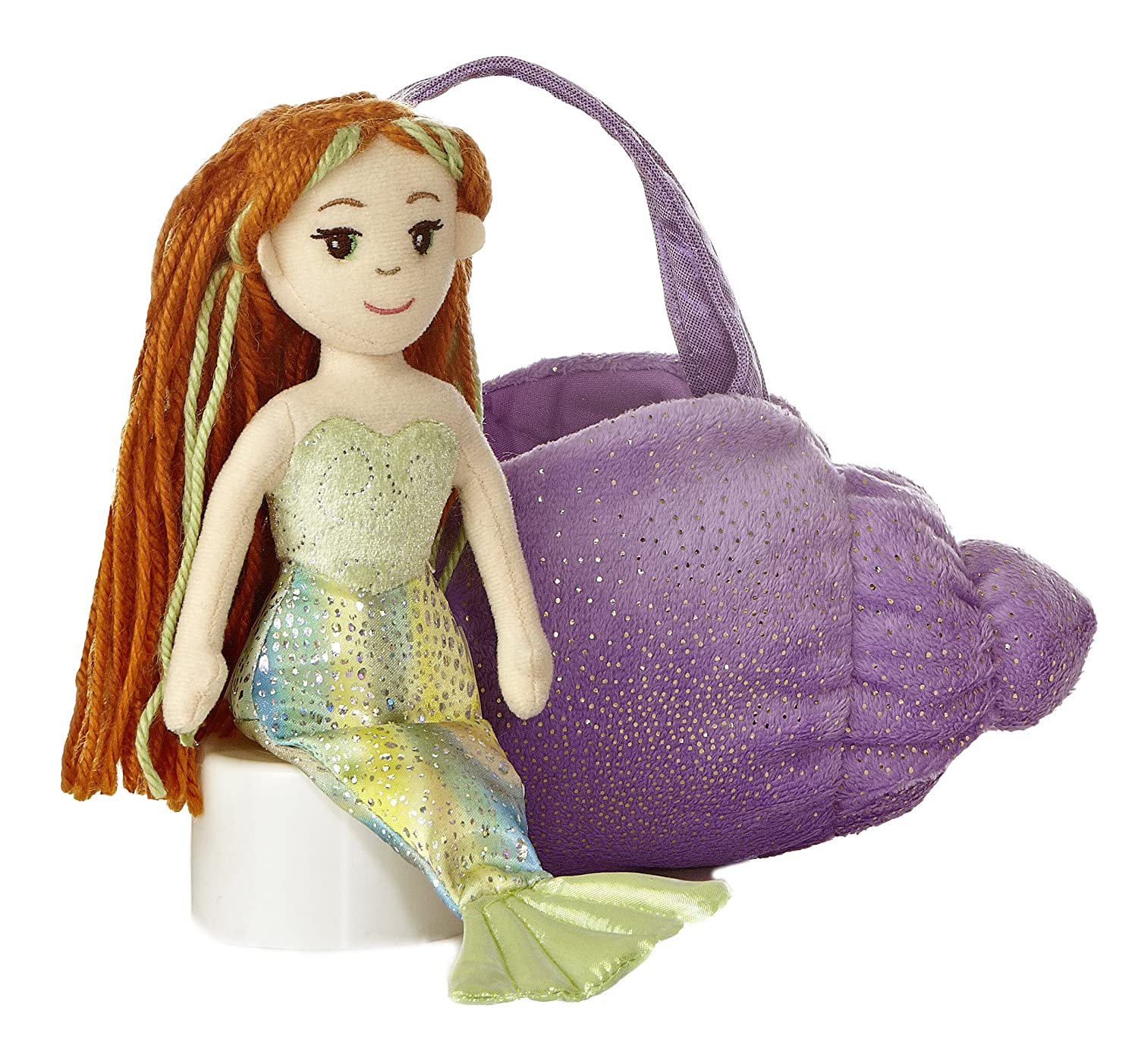 Aurora World Lavender Conch Fancy Pals Carrier by Aurora World