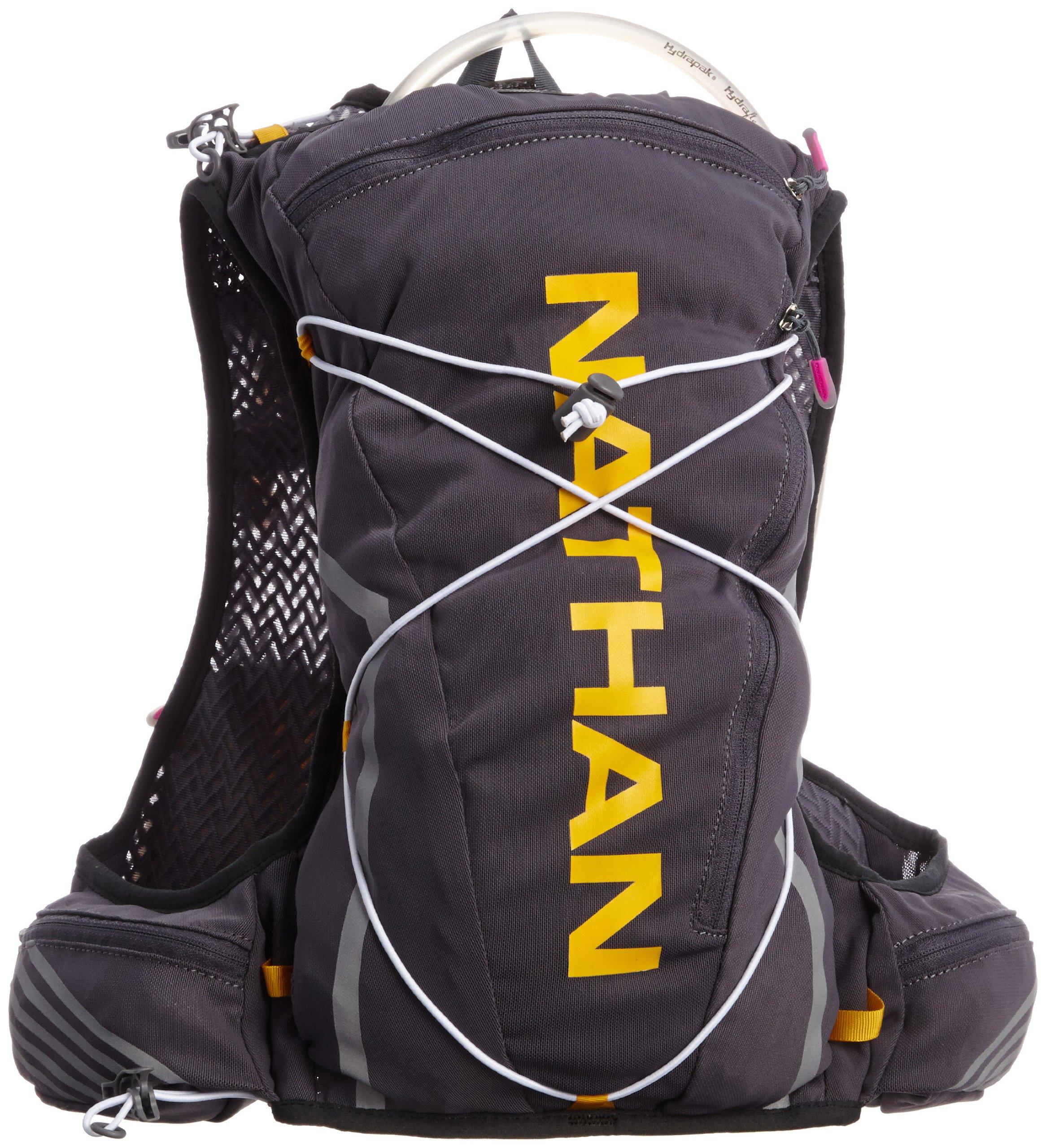 Nathan VaporShadow 2-Liter Hydration Vest, Nathan Grey, Large/X-Large