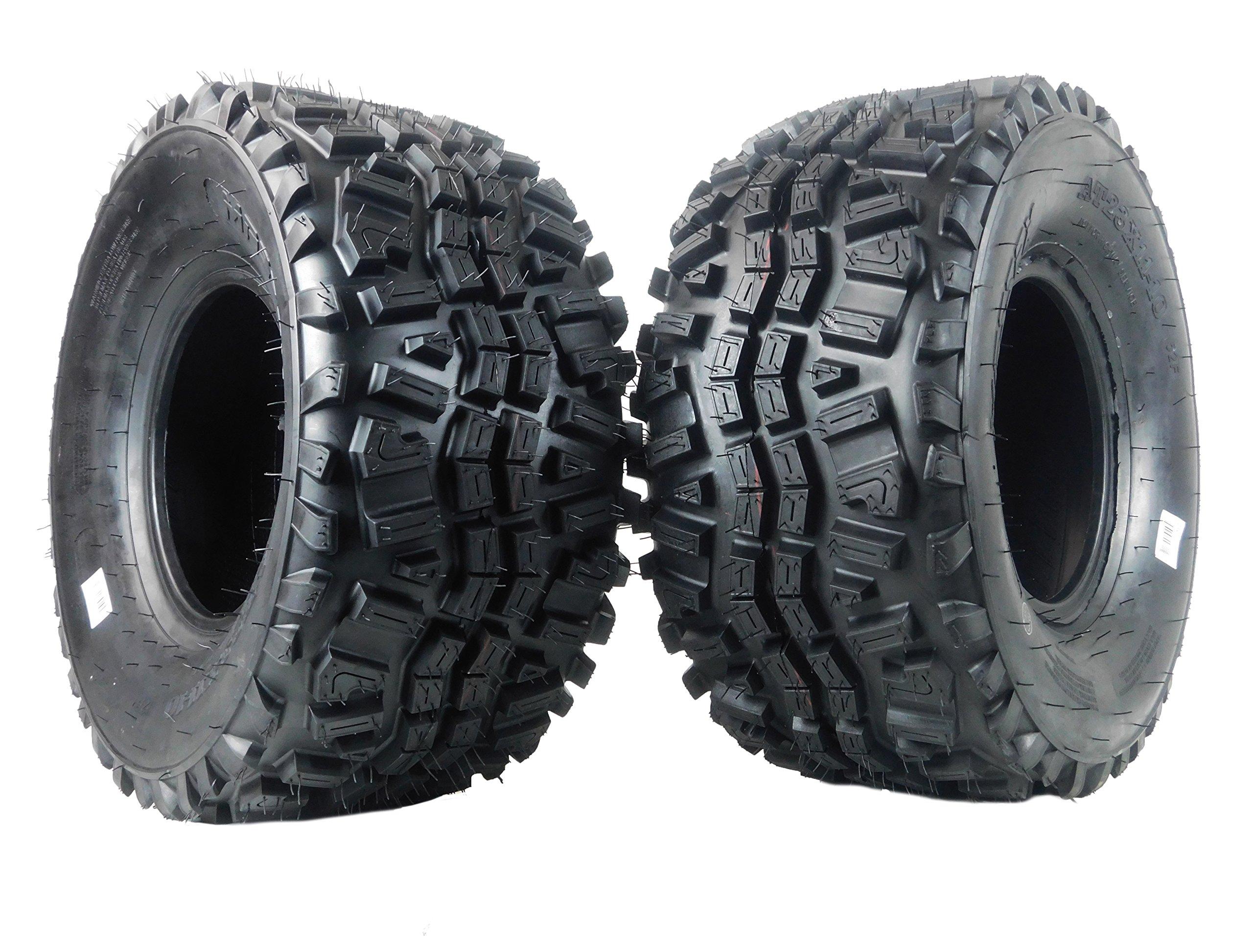 New MASSFX VS231110 ATV Tires 23X11X10 23x11-10 OEM Kawasaki Mule Tires 6 Ply 2 set