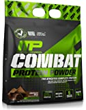 MusclePharm Combat Protein Powder - Essential blend of Whey, Isolate, Casein and Egg Protein with BCAA's and Glutamine for Recovery, Chocolate Milk, 10 Pound