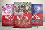 Wicca: Magic Starter Kit - This Book Includes 3 Manuscripts: Wicca Herbal Spells, Moon Magic, Crystal Magic (English Edition)