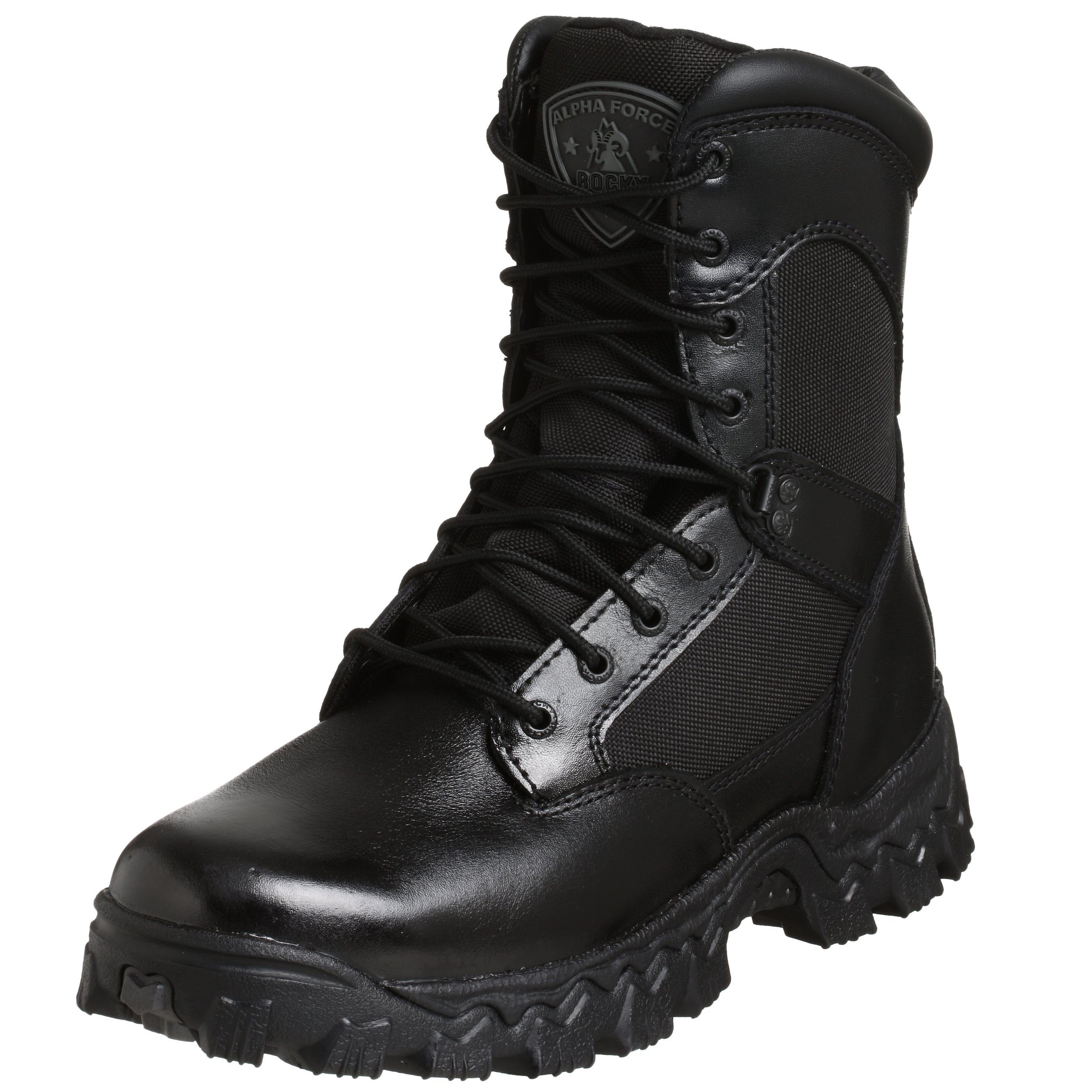 Rocky Duty Men's Alpha Force 8'' Swat Boot,Black,11.5 M by Rocky (Image #1)