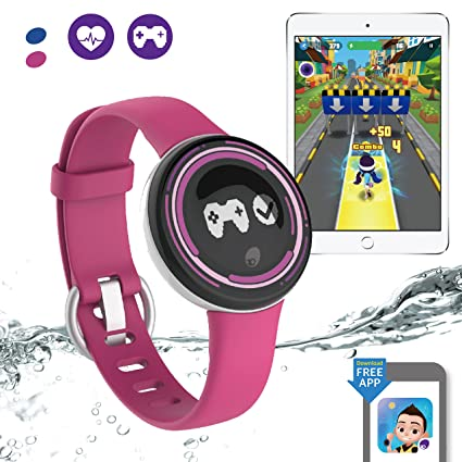 PAI TECHNOLOGY PaiBand Kids Activity Tracker IP67 Water Resistant Fitness  Tracker as Step Counter Sleep Monitor Pedometer Smart Bracelet with Motion