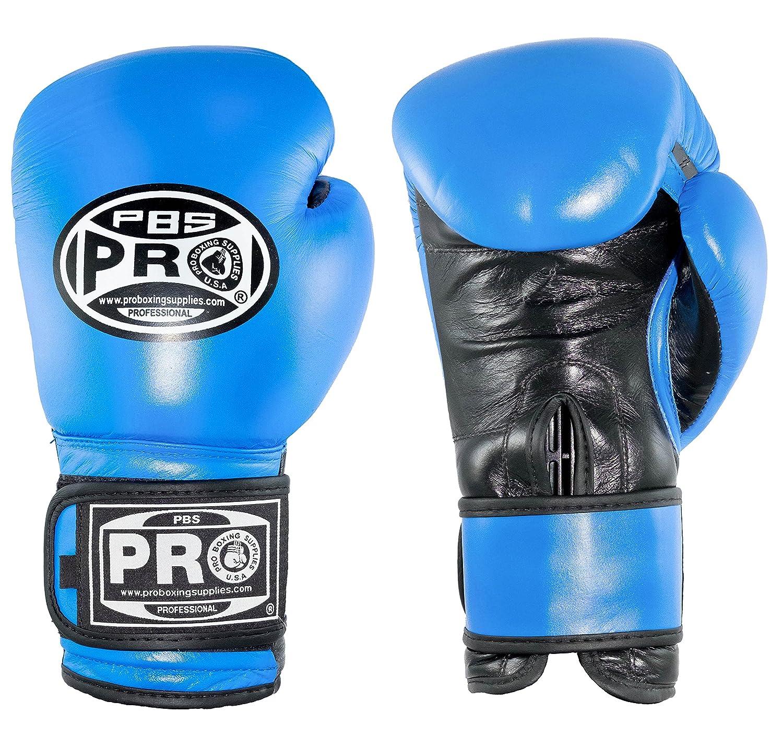 Proクラシックレザーグローブ B079CPV3KQ 12 oz|ブルー ブルー 12 oz