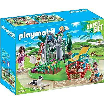 PLAYMOBIL SuperSet Family Garden: Toys & Games