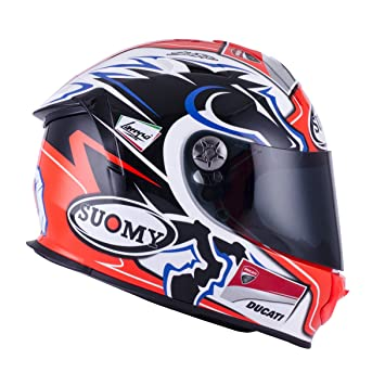 SUOMY SR Sport - Casco para Moto Integral, Multicolor (New Dovi Replica Blue)